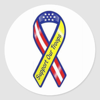 support our troops sticker