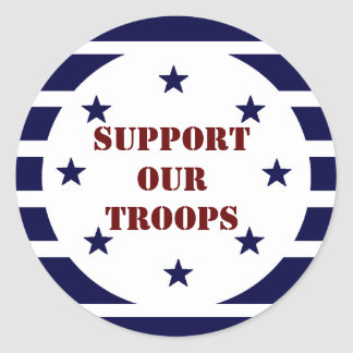 SUPPORT OUR TROOPS STICKERS