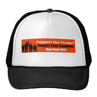 Support Our Troops? Support Their Candidate! Hats