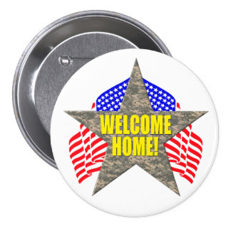 Support Our Troops Welcome Home Button