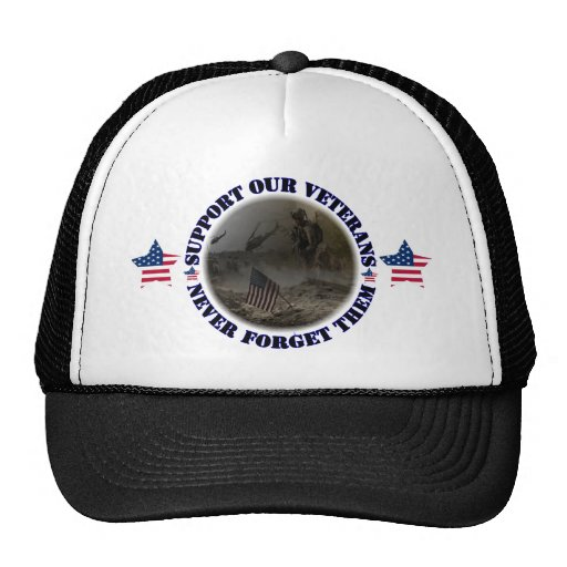 Support our veteran… the USA Hats
