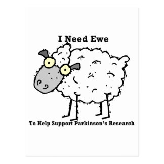 Support Parkinson's Research Postcard