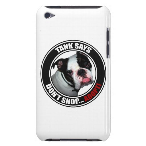 Support Pet Adoption, Don't Shop...Adopt! Barely There iPod Cases