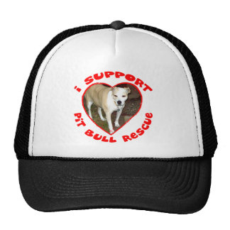 Support Pit Bull Rescue Mesh Hats