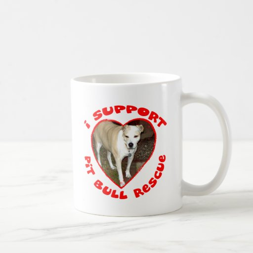 Support Pit Bull Rescue Mug