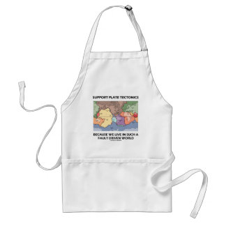 Support Plate Tectonics Because We Live In A Fault Standard Apron