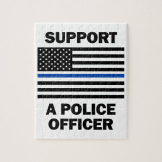 Support Police Officers Puzzle