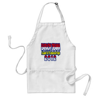 SUPPORT RE-ELECT OBAMA 2012 STANDARD APRON