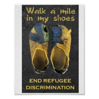 Support Refugees Posters