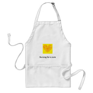 support rsd, Burning for a cure Standard Apron