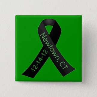 SUPPORT SANDY HOOK ELEMENTARY 15 CM SQUARE BADGE