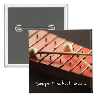 Support School Music Xylophone Button