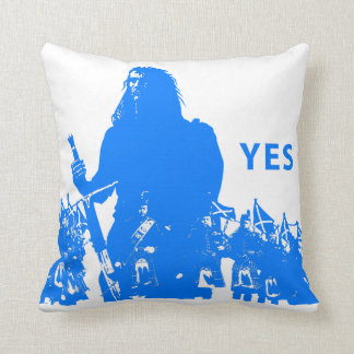 Support Scotland Polyester Throw Pillow