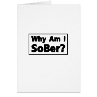 Support Sobriety Cause Gif Am I Sober Card