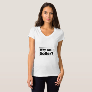 Support Sobriety Cause Gif Am I Sober T-Shirt