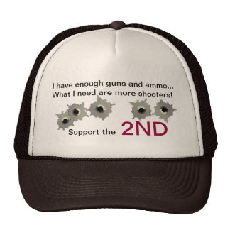 Support the 2ND amendment hat