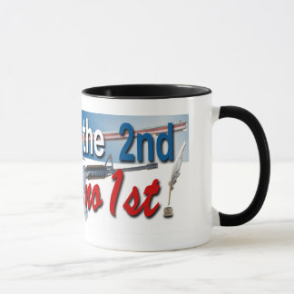 Support the 2nd Amendment mug. Mug