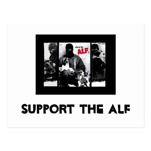 Support the ALF Postcards