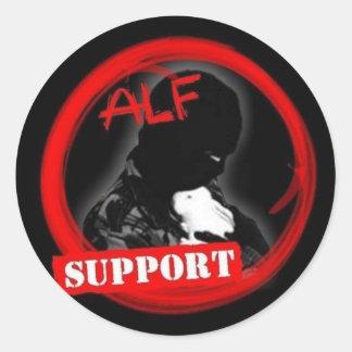 Support the ALF! Round Sticker