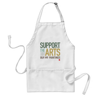 Support the Arts Paintings Aprons