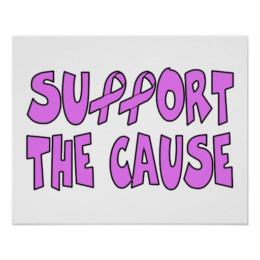 Support The Breast Cancer Cause Print