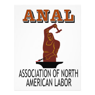 Support the Everyday Worker: ANAL Gear 21.5 Cm X 28 Cm Flyer
