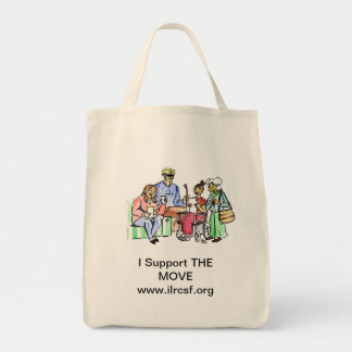 Support THE MOVE Tote Bag