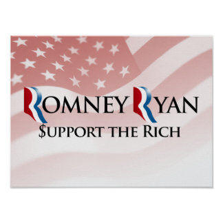 SUPPORT THE RICH -.png Print