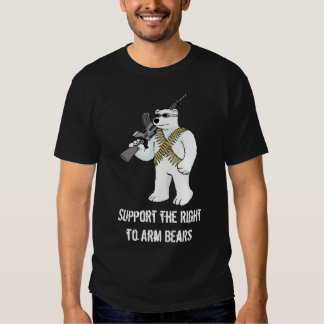 Support the Right to Arm Bears Tee Shirts