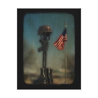 Support The Troops Gallery Wrap Canvas