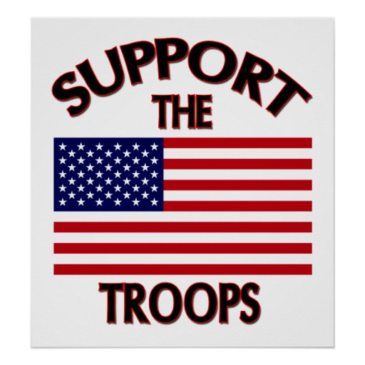 Support The Troops Posters