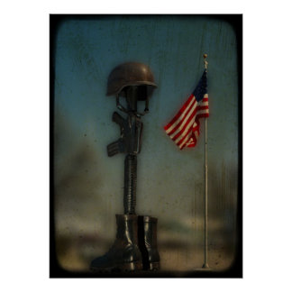 Support The Troops Poster