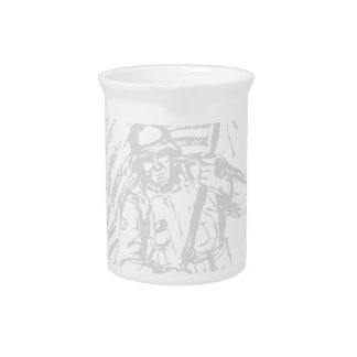 Support The Troops - USA American Pride Beverage Pitchers