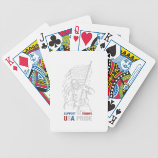 Support The Troops - USA American Pride Poker Deck