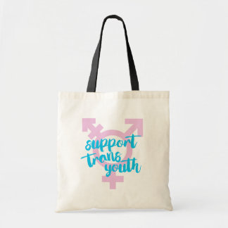 Support Trans Youth - Trans Symbol - -  Tote Bag
