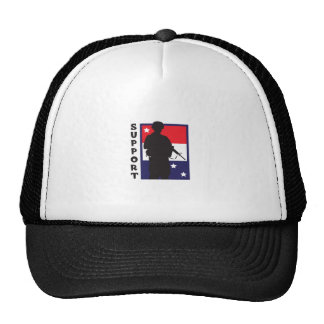 SUPPORT TROOPS MESH HATS