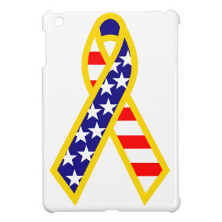 Support Troops Ribbon Cover For The iPad Mini
