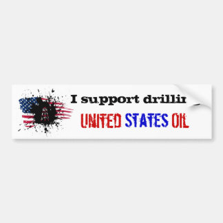 Support US Drilling Bumper Sticker