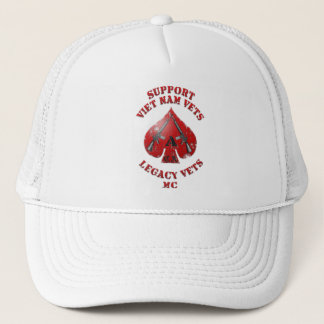 Support Viet Nam / Legacy Vets MC Hat - Spade Logo