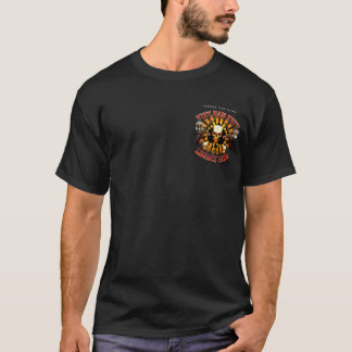 Support Viet Nam Vets with Skull and M4s T-Shirt