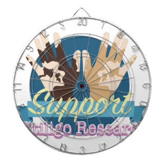 Support Vitiligo Research Dart Boards