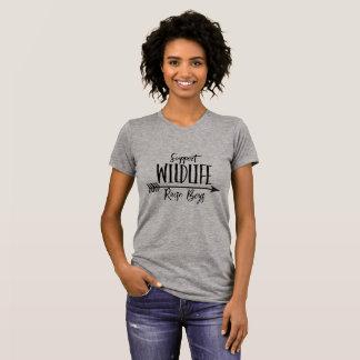 Support Wildlife Raise Boys Women's T-Shirt