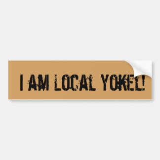 Support your FC Local Yokel bloggers! Bumper Sticker