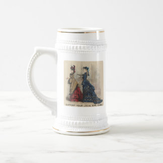 Support Your Local Girl Gang Beer Stein