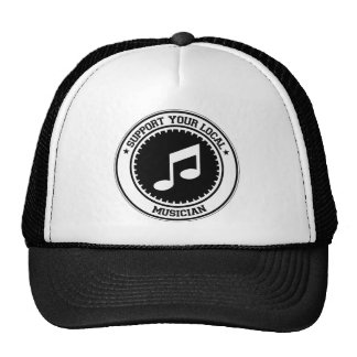 Support Your Local Musician Mesh Hat