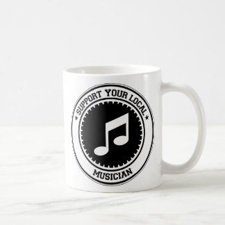 Support Your Local Musician Mug
