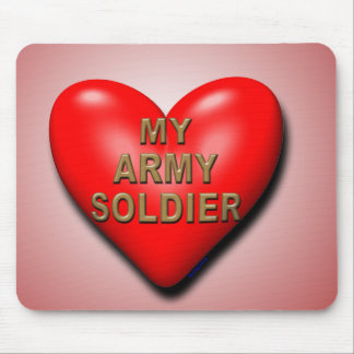 Support Your Soldier Mouse Pad