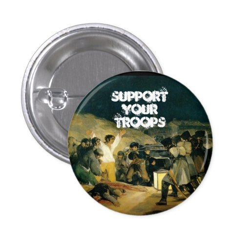 Support Your Troops Pins