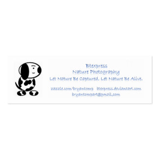 Supporter Ad Card Pack Of Skinny Business Cards