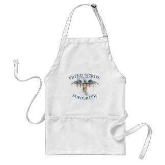 Supporter - Distressed Eagle Standard Apron